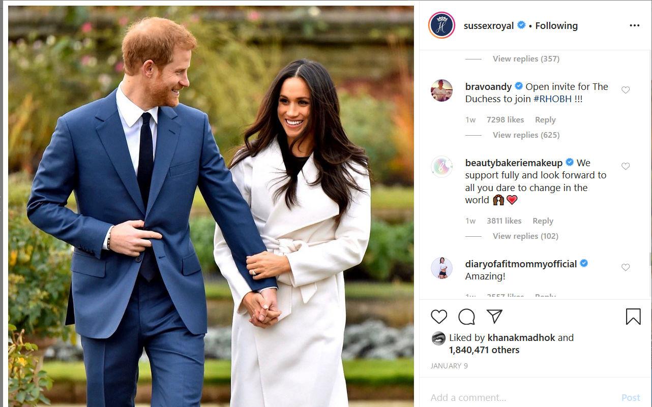 Meghan & Prince Harry royal exit