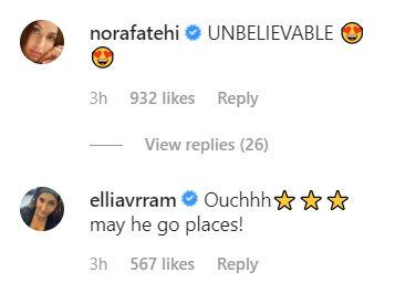 Comment on Varun Dhawan's Instagram Post
