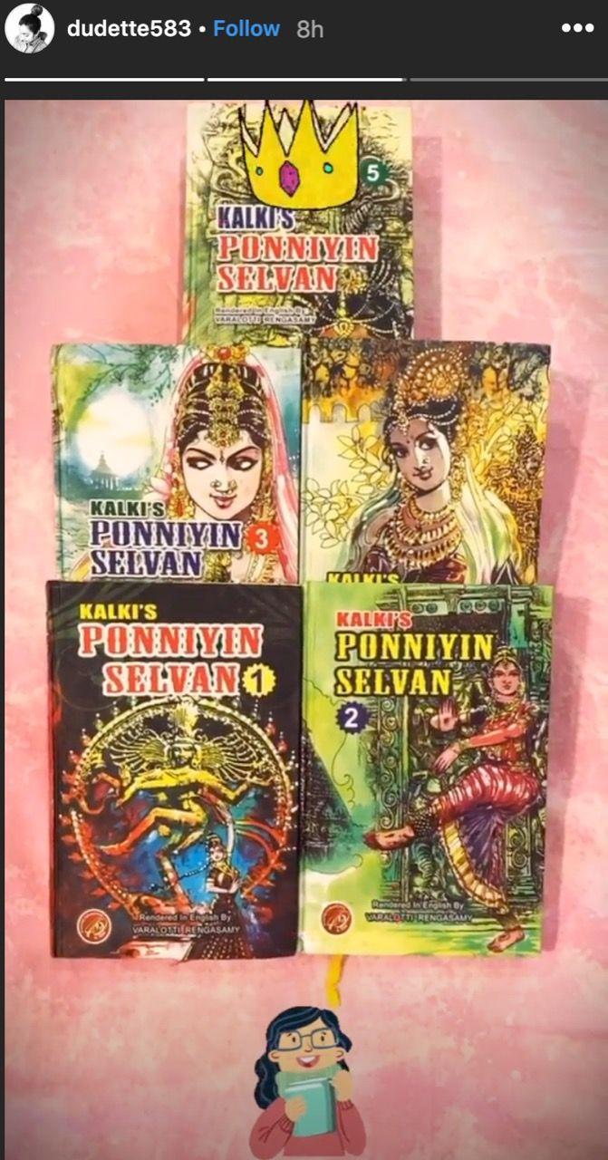 Trisha's preparation for the movie Ponniyin Selvan