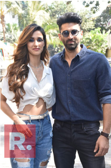 Disha Patani And Aditya Roy Kapur Look Stunning As They Promote Their Film Malang Republic World