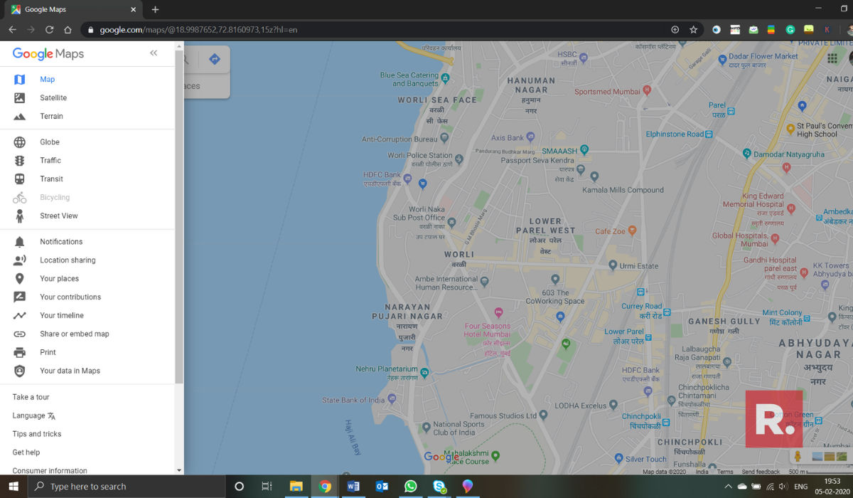 how to change language in Google Maps, Google Maps settings, google maps location