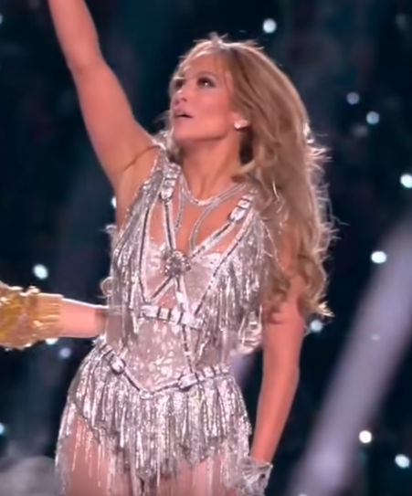 Jennifer Lopez and the outfits she wore this week