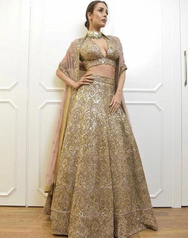 Malaika Arora looks elegant and stylish in all types of lehengas ...
