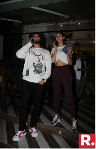 Siddhant Chaturvedi and Ananya Panday