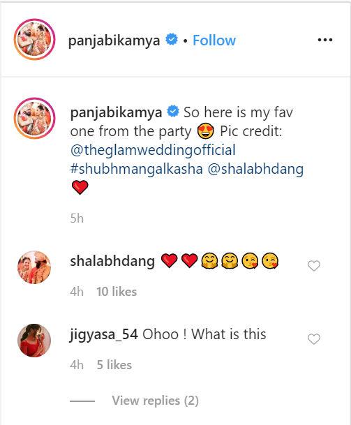 shalabh dang kamya punjabi's wedding kamya punjabi's husband shalabh dang