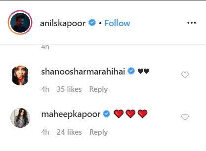 Anil Kapoor Rhea Kapoor Rhea Kapoor's birthday Anil Kapoor's photos