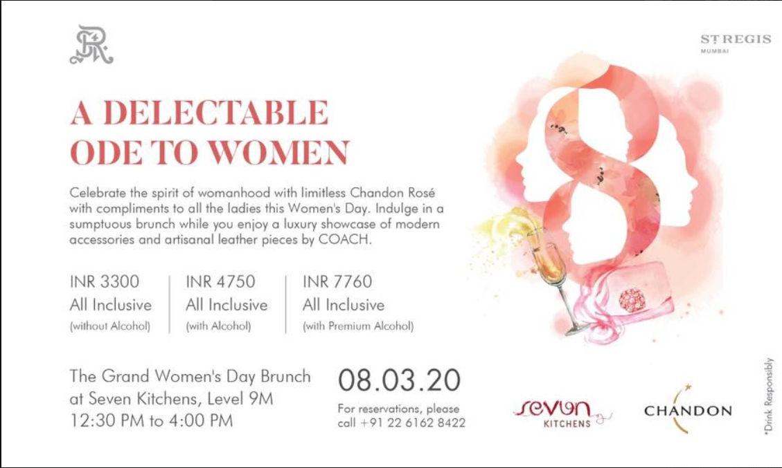 happy women's day, women's day celebration in mumbai, women's day celebration near me
