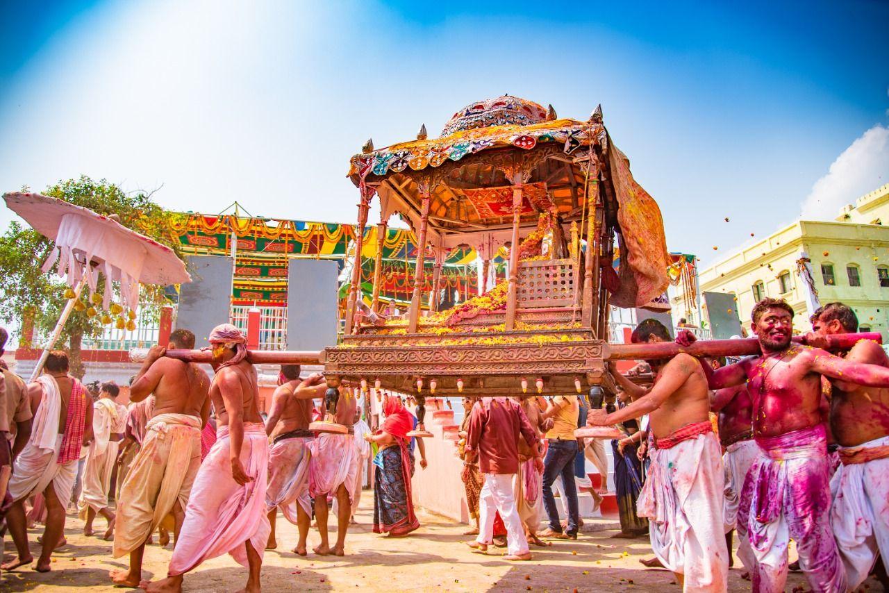 Holi in Puri