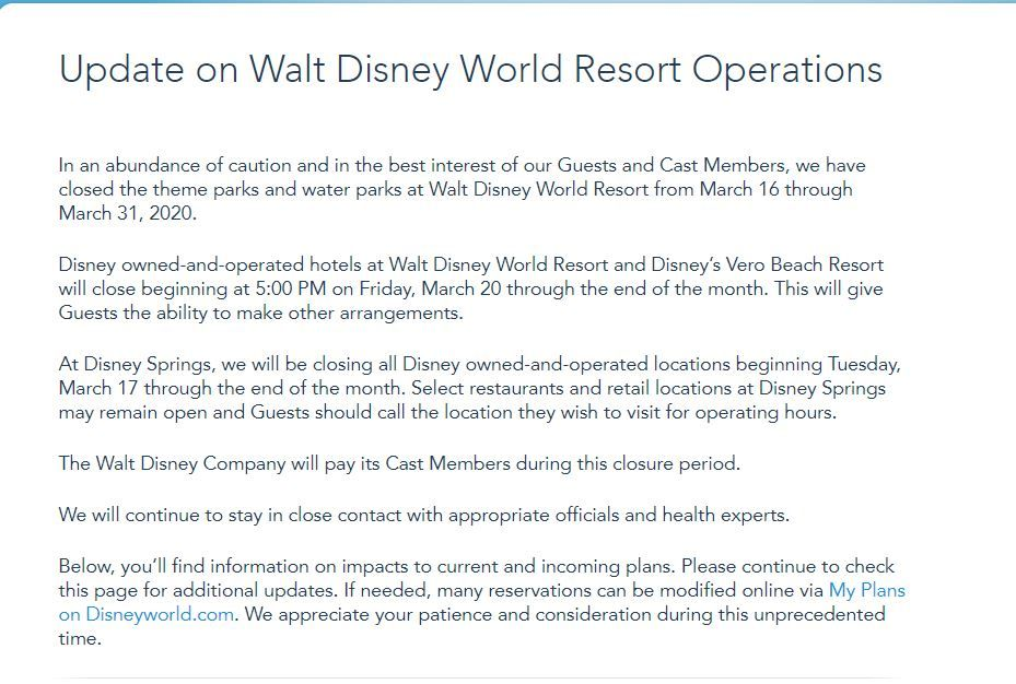 how long will disney world stay closed is disney world closed is disney world open when will disney world open again how long will disney world stay closed is disney world closed is disney world open when will disney world open again