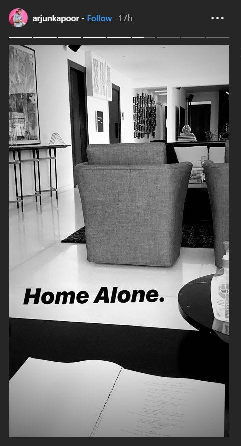 Arjun kapoor's Instagram