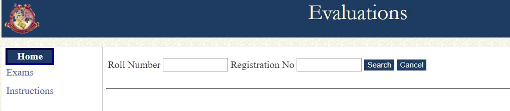 egov uok evaluation marks, kashmir university evaluation