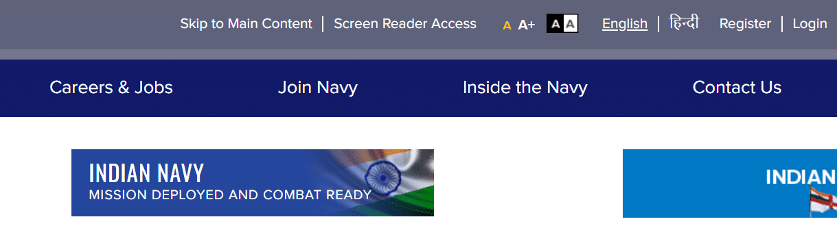 Indian navy results