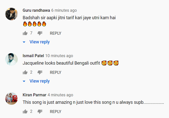 Comments on Genda phool song