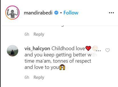 Mandira Bedi throwback Mandira Bedi's photos Mandira Bedi on instagram quarantine