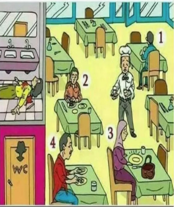 A Woman Is Murdered In The Restroom This Riddle Will Test Your Deductive Reasoning