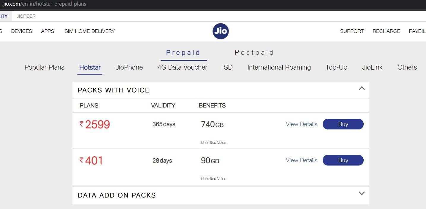 Jio Hotstar offer Rs. 2599 plan: Get Jio Disney Hotstar free scheme for Jio  prepaid users