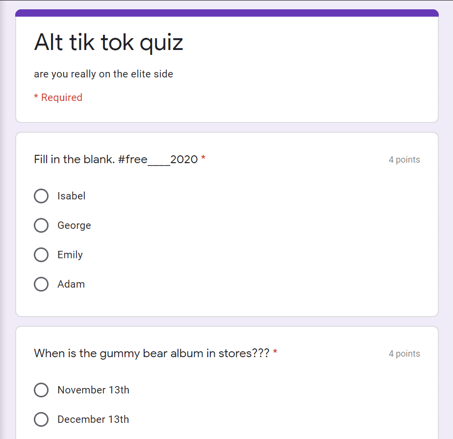 What The Alt Tiktok Quiz All About What Is The Straight Vs Elite Side Of Tiktok