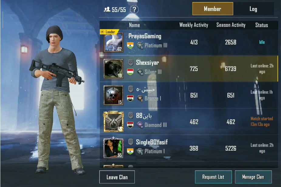 How to leave a crew in pubg mobile