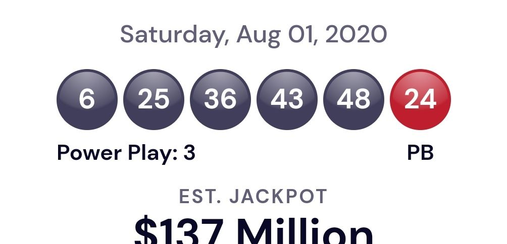 Powerball Usa Lottery Winning Numbers For Aug 1 2020 Winning Results Republic World