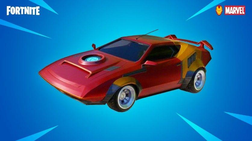 Fortnite Iron Man Whiplash Car Amazingly Faster Than Normal Variants