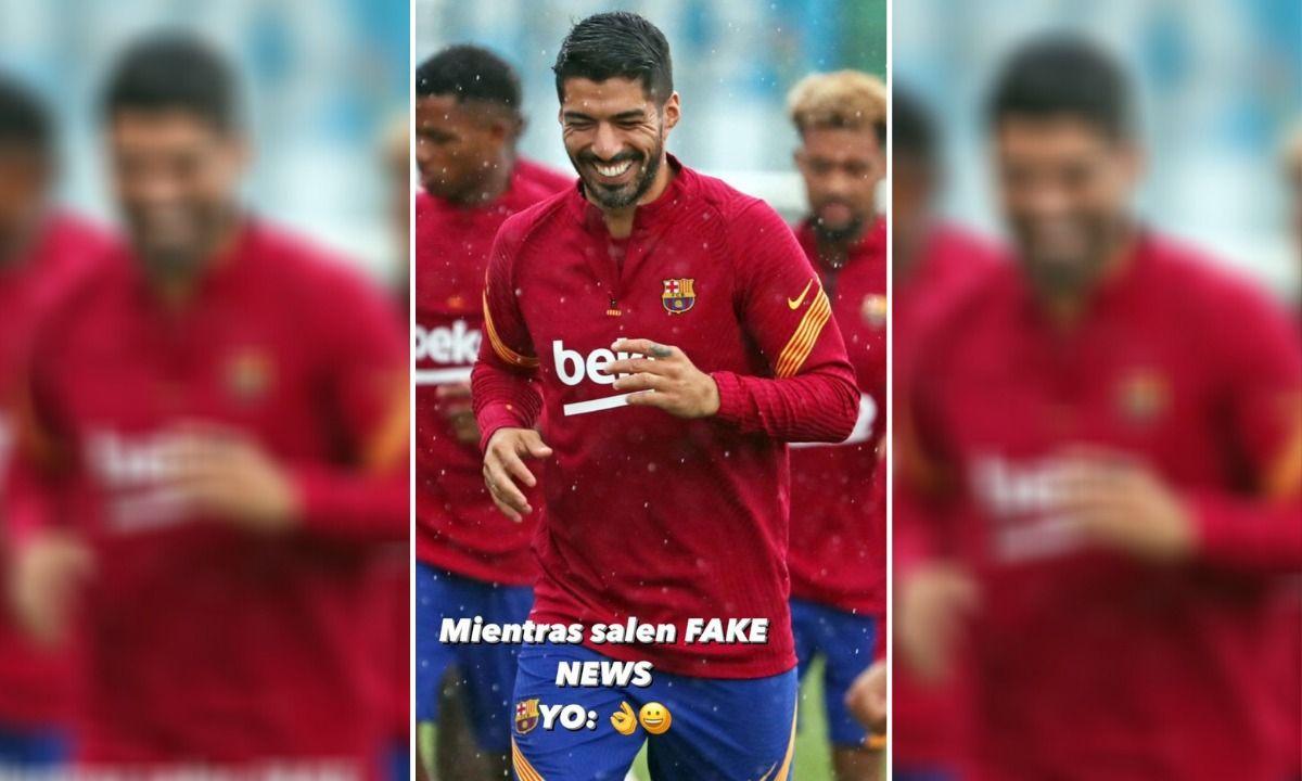 Suarez Transfer Barcelona Star Calls Juventus Move Rumours Fake News On Instagram