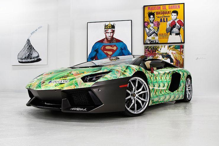 Lebron James 2 5 Million Car Collection Boasts Three Ferraris A Custom Lamborghini