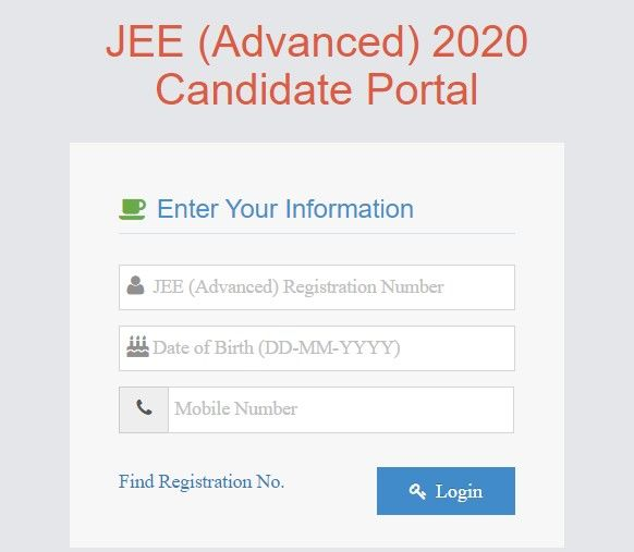 Jee Advanced 2020 Jee Advanced Admit Card Declared Now See Direct Link For Download Republic World