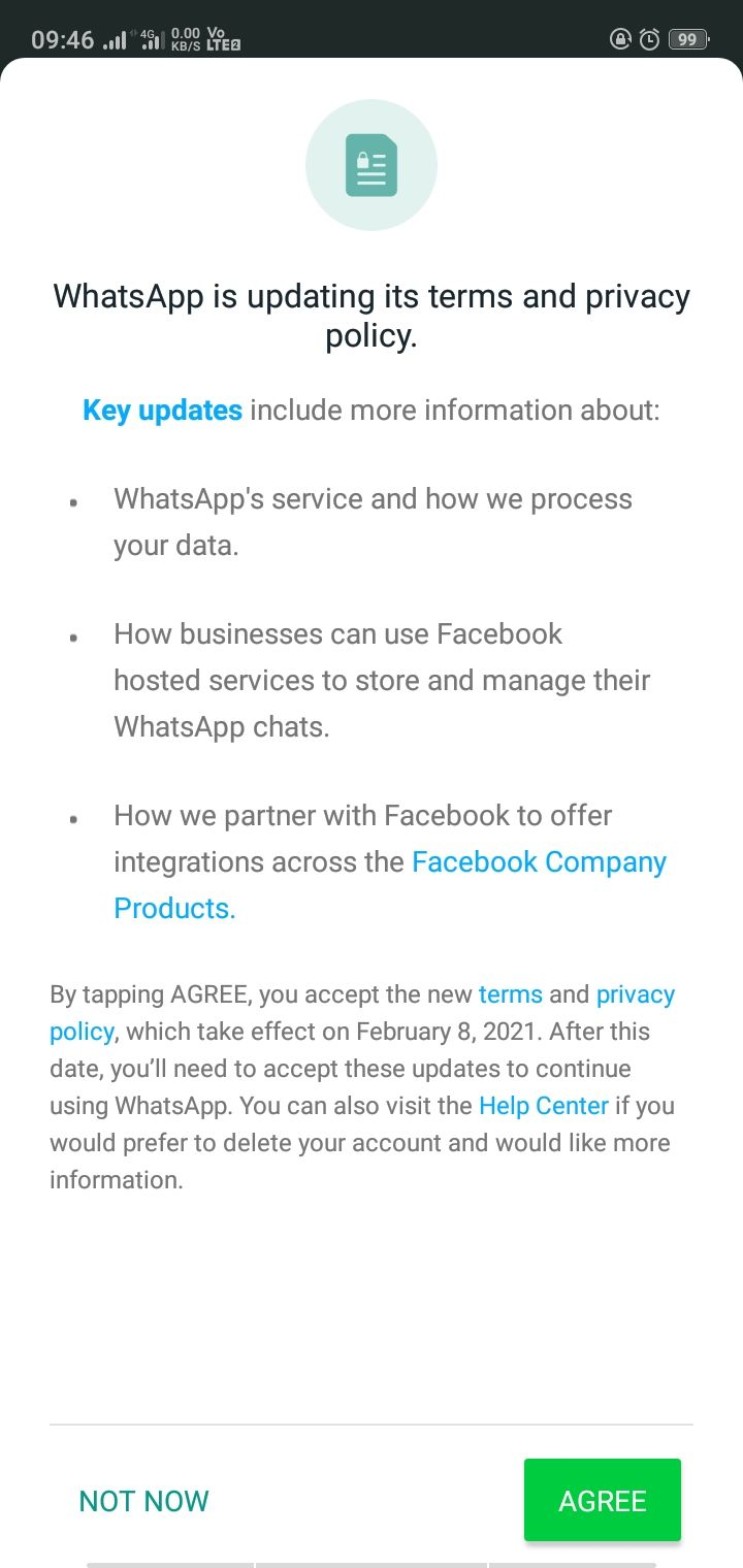 WhatsApp Privacy Policy changed after new update; What's new?