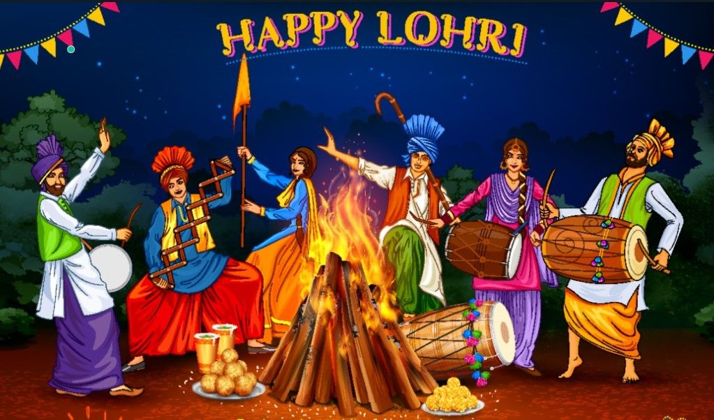 Lohri 2021 images & wishes to share with friends and ...