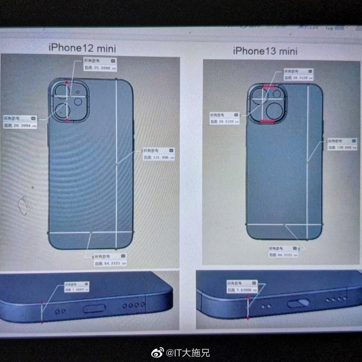 iPhone 13 mini leaks reveal that its design is similar to ...