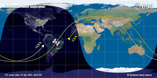 - 16191576226082627650113 - How big is the ISS? Size, exact location and more about the International Space Station