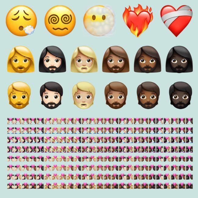 iOS 14.5 new emoji