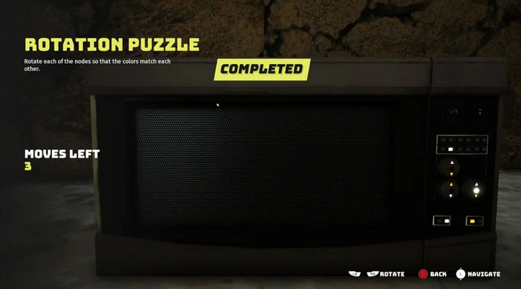 Biomutant microwave rotation puzzle solution