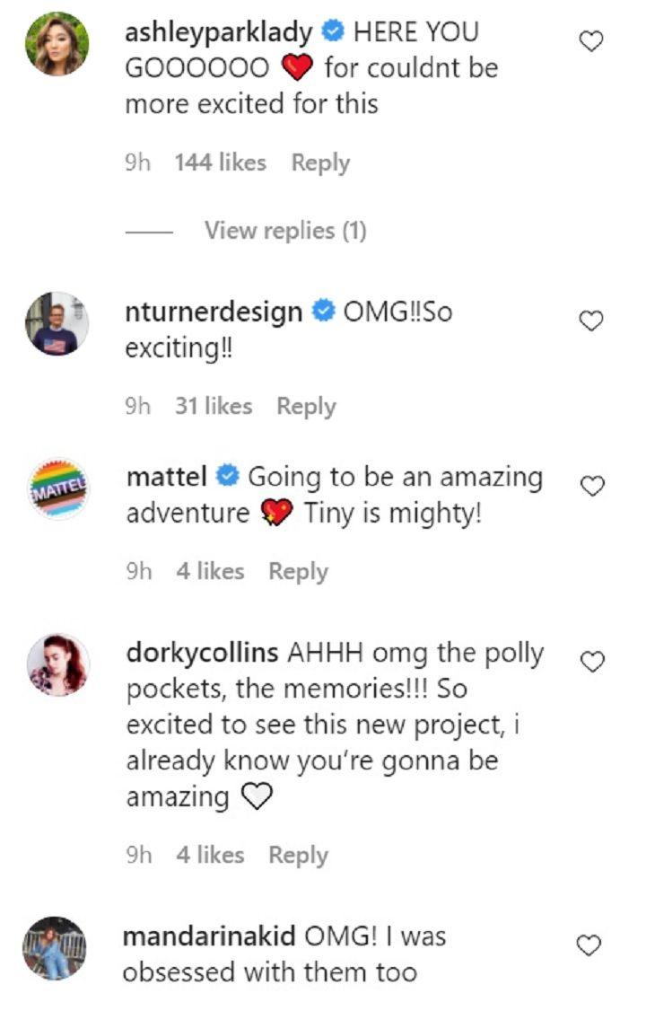 Lily Collins comments