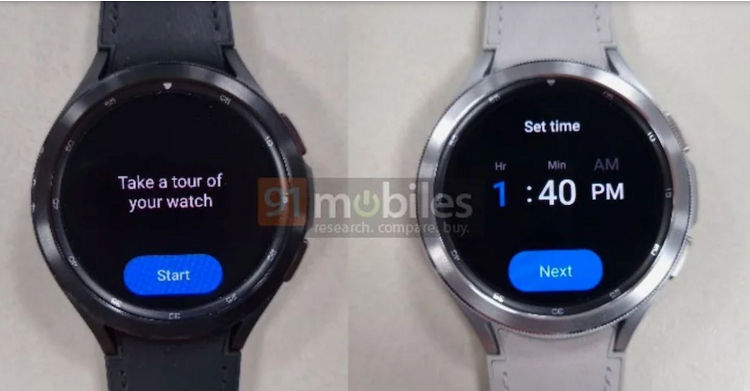 Samsung Galaxy Watch 4 Classis leaked image