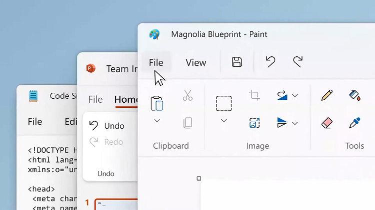 Microsoft Paint new design revealed