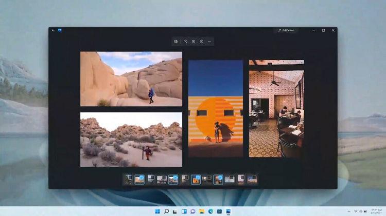 Windows photos refreshed design