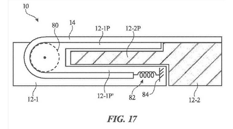 Apple patents expandable smartphone