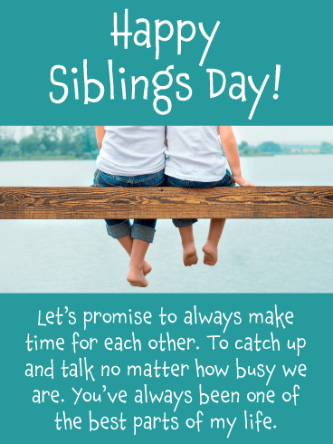 What Is National Siblings Day Why Is It Celebrated Details Here