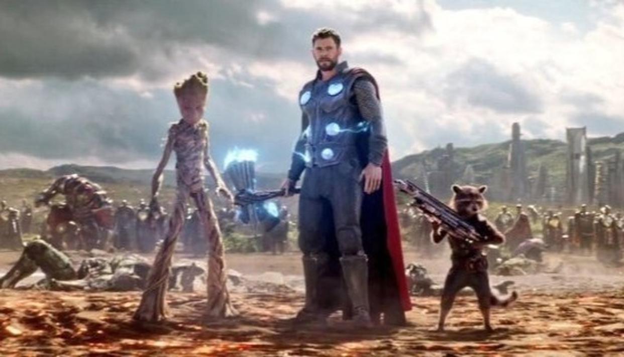 Thor Infinity War Storm Breaker