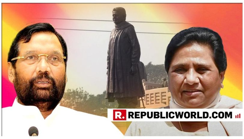Mayawati S Main Purpose Was To Erect Her Own Statues Union Minister Ram Vilas Paswan Takes A Dig At Bsp Supremo Republic World