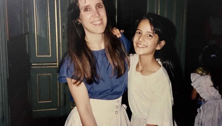 Katrina Kaif with her mother