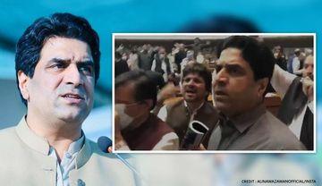 पाक संसद में मचा हंगामा; PTI नेता ने किया विपक्ष के लिए आपत्तिजनक भाषा का इस्तेमाल, VIDEO वायरल