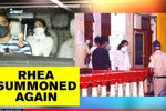 Sushant Singh Rajput case: CBI summons Rhea again, Police officials escort her home