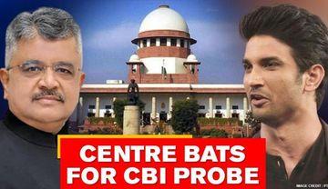 Sushant case: Centre bats for CBI probe in SC, says 'no case pending with Maharashtra'