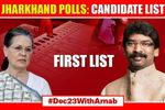 Jharkhand elections: Congress' list of candidates for 1st phase out