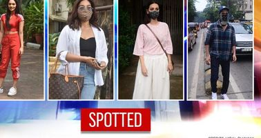 Vicky Kaushal, Manushi Chhillar, Bhumi Pednekar & more spotted in the city