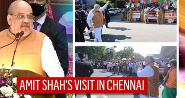 IN PICS   Home Minister Amit Shah in Chennai, inaugurates projects worth Rs. 67,000 crore