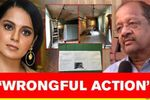 BJP MP questions BMC's 'notice' to Kangana, says 'timing of action reeks of ill intention'