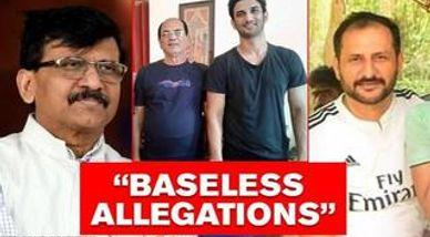 Sushant's cousin slams Sanjay Raut's 'false' comments on SSR's father, sends legal notice
